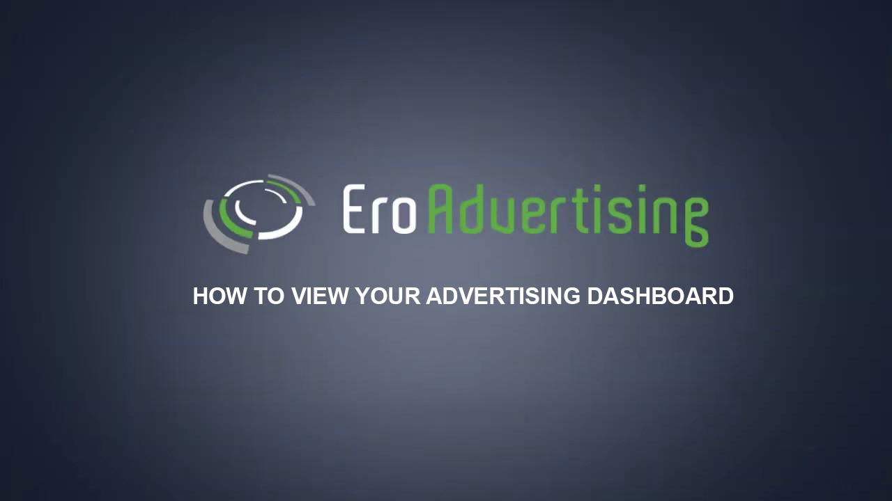 advertising dashboard